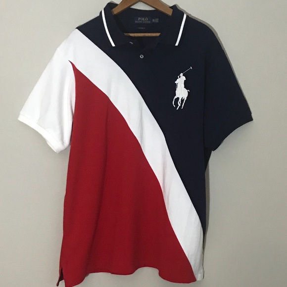 godkännandepriser specialavsnitt exklusiva skor Polo by Ralph Lauren Shirts | Polo Ralph Lauren Big Pony Red White ...
